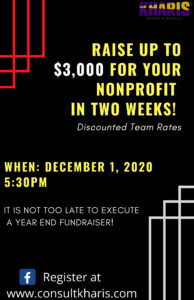 fundraiser and money for your nonprofit